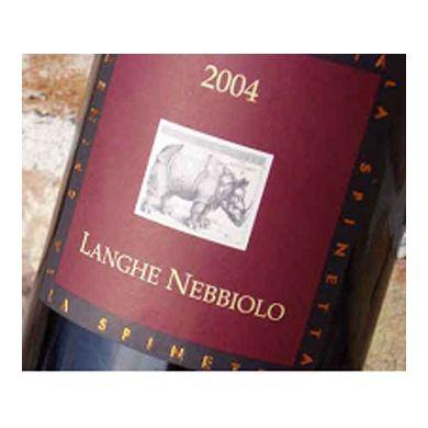 Rode wijn Spinetta Langhe Nebbiolo 2014