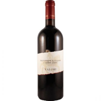 Rode wijn Valori Montepulciano d`Abruzzo 2015